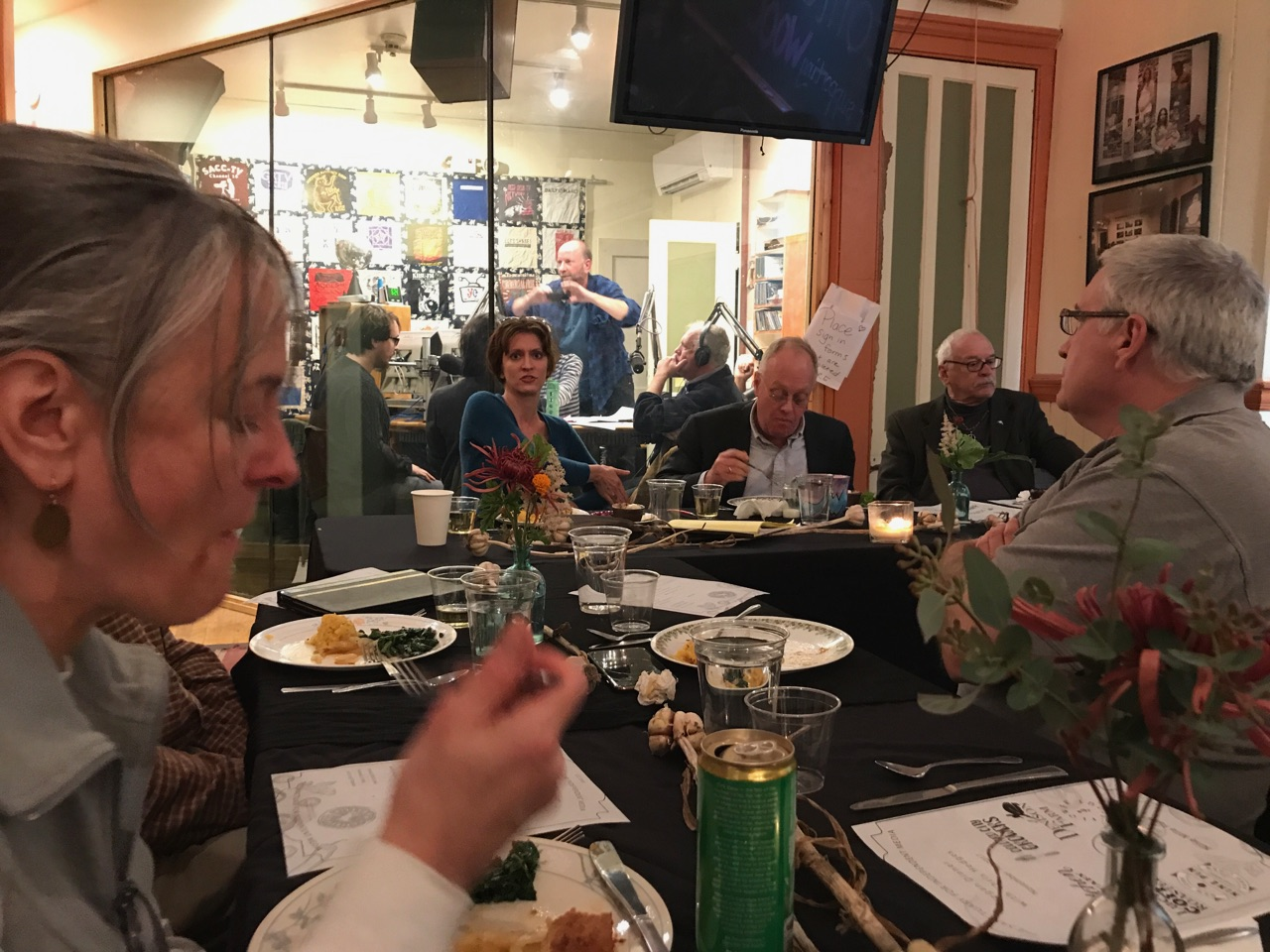 Image of Community Dinner with Radio Station