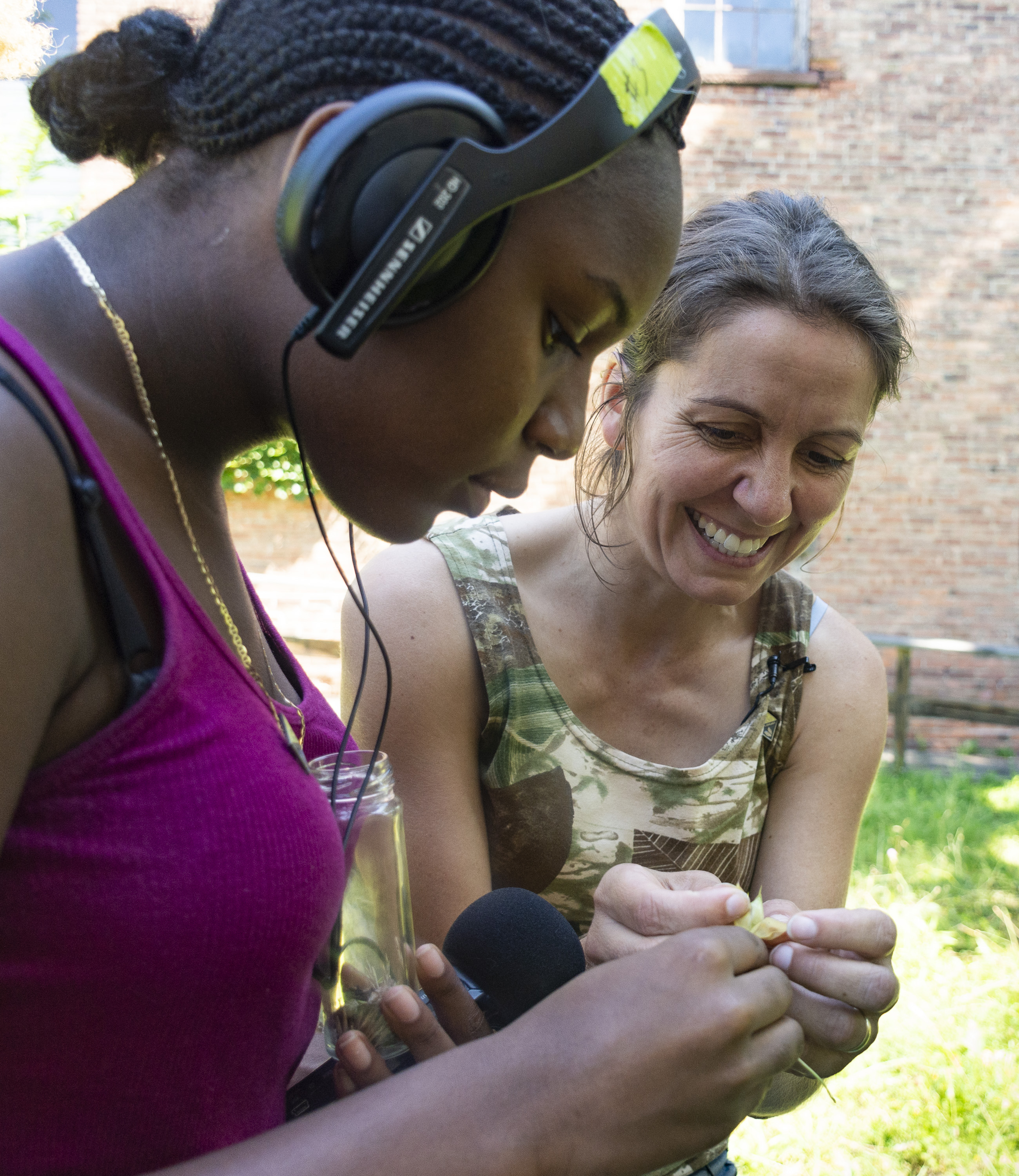 Be the Media! Workshop-- Sculpting a Story Through Audio Editing