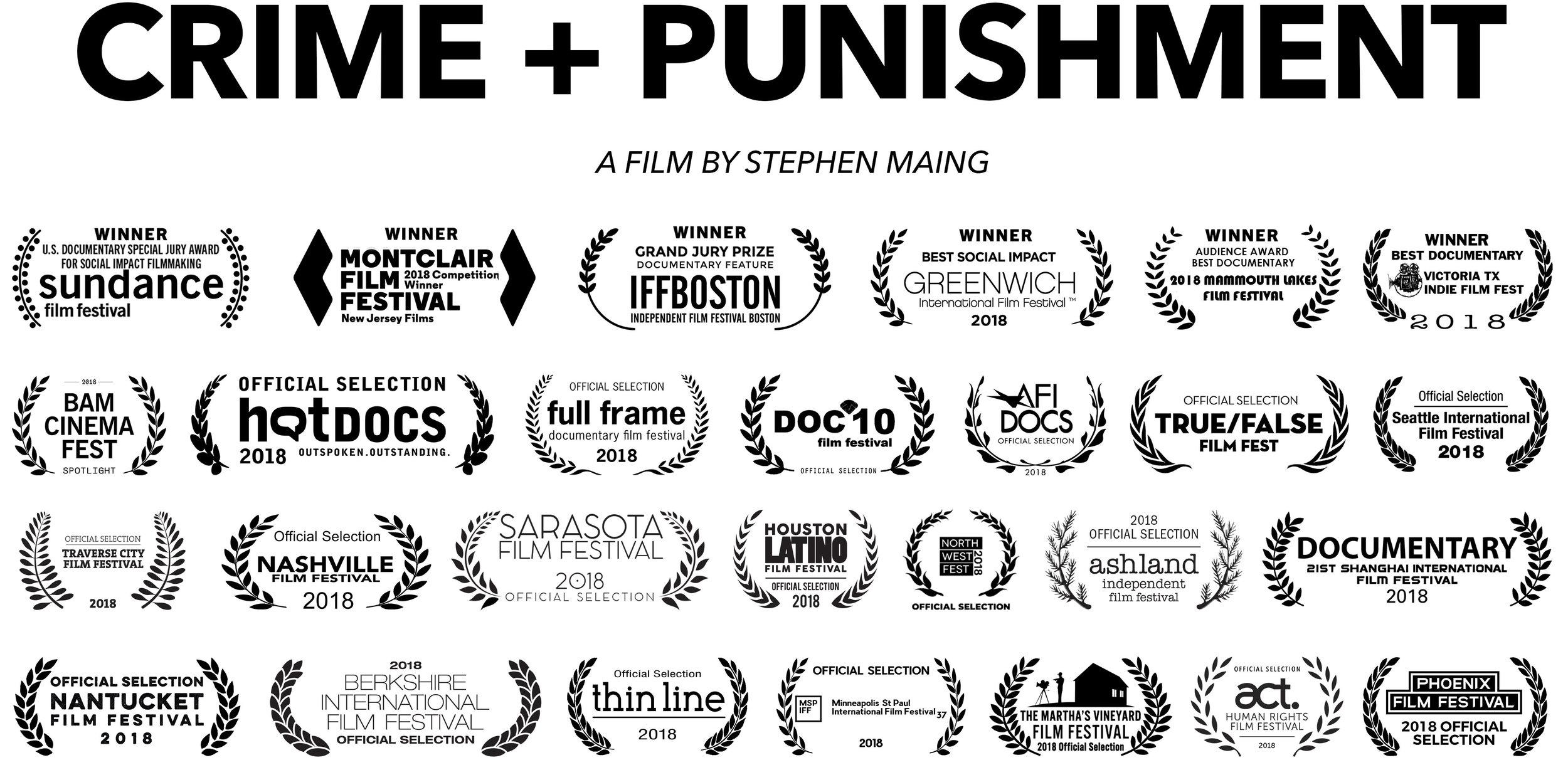 Crime and Punishment with Filmmaker Stephen Maing, Manuel Gomez (Private Investigator) plus George Weddington (Justice for Dahmeek)