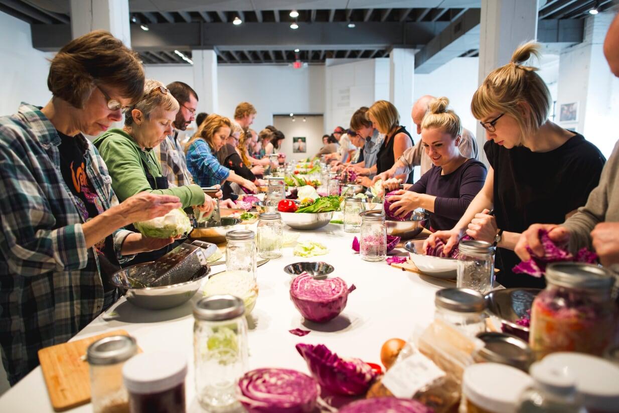 NATURE Lab workshop: Feral Fermentation with bioartists Leila Nadir and Cary Adams