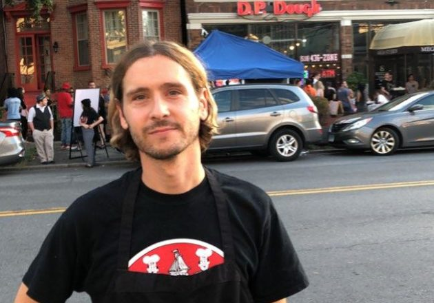Nick Warchol owner of D.P. Dough