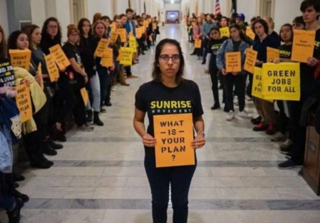 Nicole Catania and the Sunrise Movement