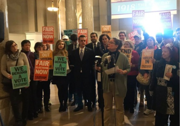 Fair Elections NY Coalition Press Conference