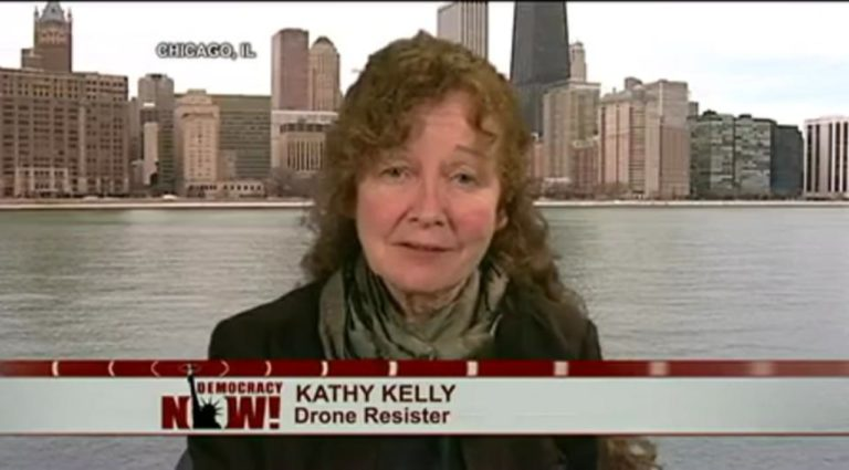 Media Strategy Session with International Peace Activist Kathy Kelly