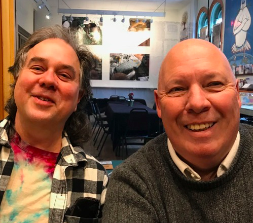 Bob Gamache and Mark Emanation talk about their latest Foodstock project