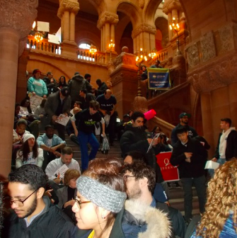 """We attended the press conference for the funding of """"Enhanced Supports for Students with Disabilities"""" on February 11th at the NY State Capital Building."""