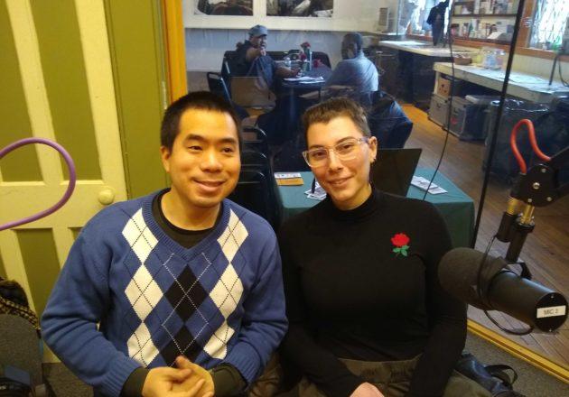 Taro Omiya and Maria Salmon
