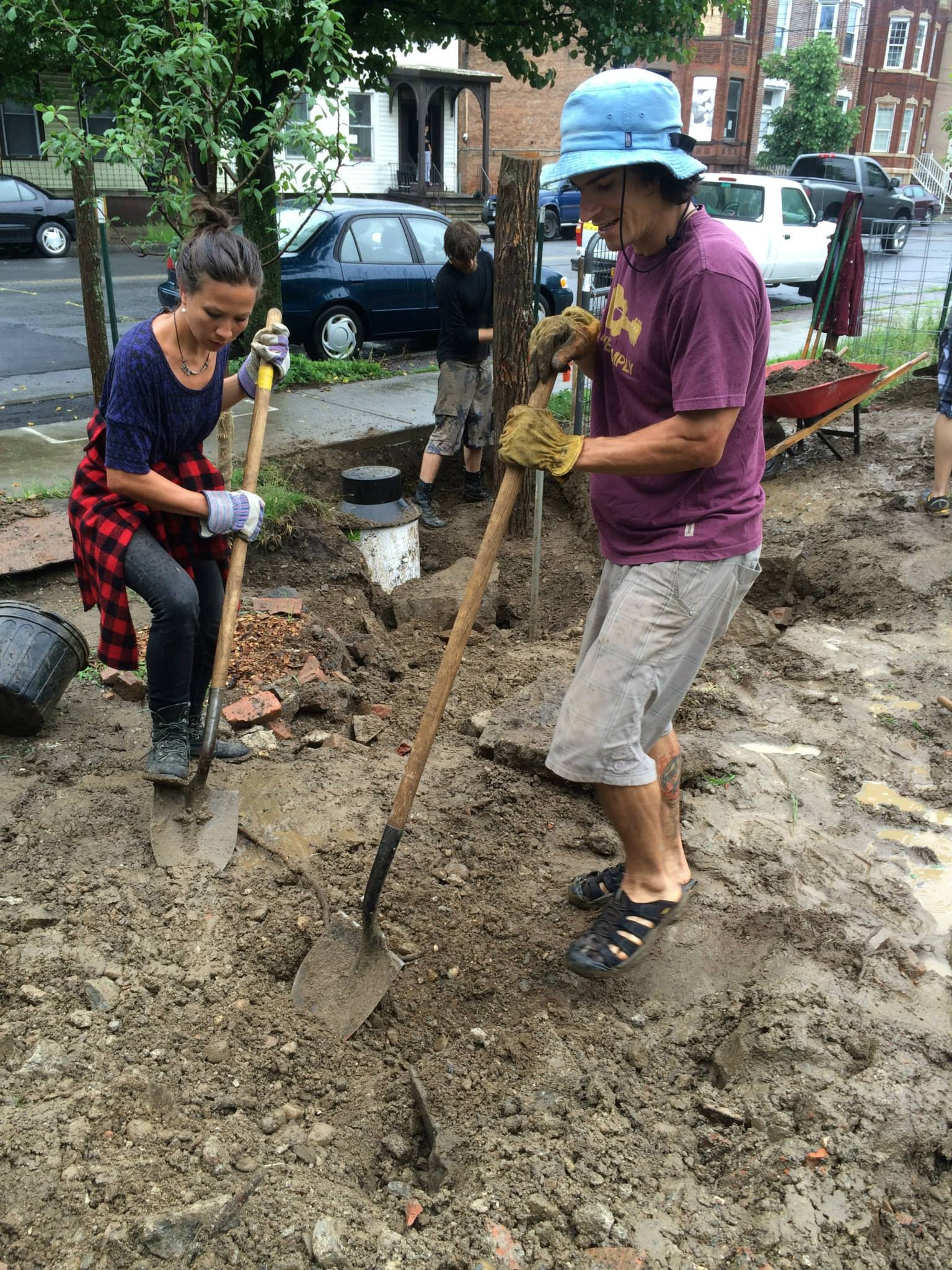 Getting Grounded: Transplanting Party with Collard City Growers