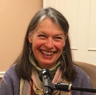 eed saver Sylvia Davatz talks grains at the 2019 NOFA NY winter conference in Saratoga.
