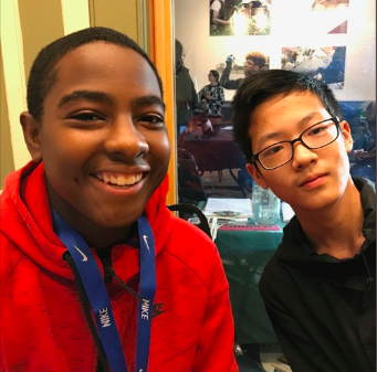 Leah Penniman's students at Darrow School, Matthew Lucien & Mark Shen report on their findings on the hudson river.