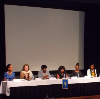 WOOC attended the Hudson Valley Community College Women's History Month Celebration, on Wednesday, March 27, where he interviewed participants and organizers of the Women's Empowerment Panel.