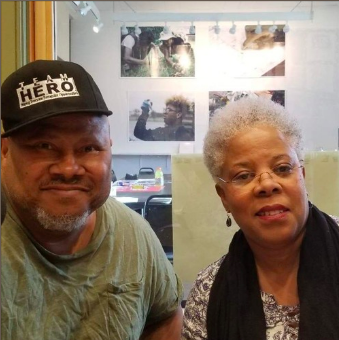 WOOC discusses with Lovonia Mallory the upcoming Pulmonary Embolisms Awareness day that will take place in Washington Park, May 4, 2019 in honor of Lovonia's brother Guy Mallory who died of a pulmonary embolism, May of 2018.