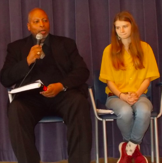 In this segment, you will hear part one of his interviews with panelist speakers from the forum Natalie Penna, Feliz Quinones-Nieves and Merton Simpson.