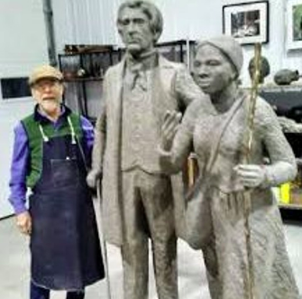 In this segment, you will hear his interview with Frank Wicks, former Professor at Union College and RPI about a project to put a statue of William Seward and Harriet Tubman at the Schenectady