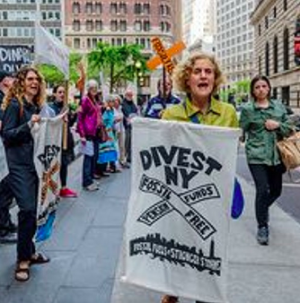 The NYS Legislature held a hearing on April 30 2019 on the bill by Senator. Krueger and Assemblymember Ortiz to divest the state pension fund fossil fuels in five years. We hear from Richard Schrader of NRDC; Sen. Krueger; and Anastasia Titarchuk of the NYS Comptroller Office.