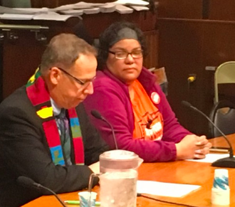 The NYS Legislature held a hearing on April 30 2019 on the bill by Senator. Krueger and Assemblymember Ortiz to divest the state pension fund fossil fuels in five years. In this segment we hear from Rachel Rivera of NY Communities for Change; Rev. Ken Scott of GreenFaith; and Daniel Zarrilli, chief climate advisor for NYC Mayor's Office.