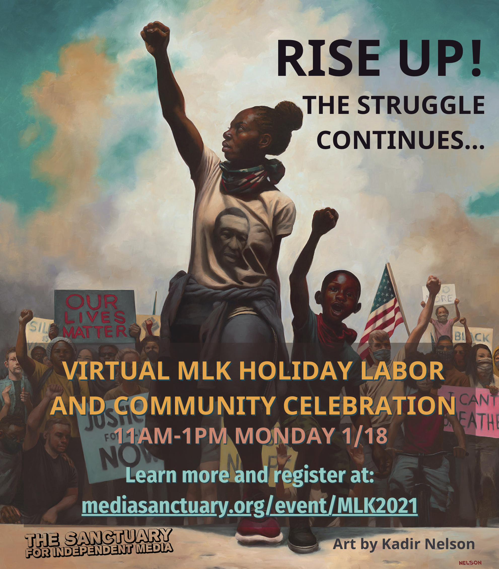 MLK Holiday Labor and Community Celebration: Rise Up! The Struggle Continues...