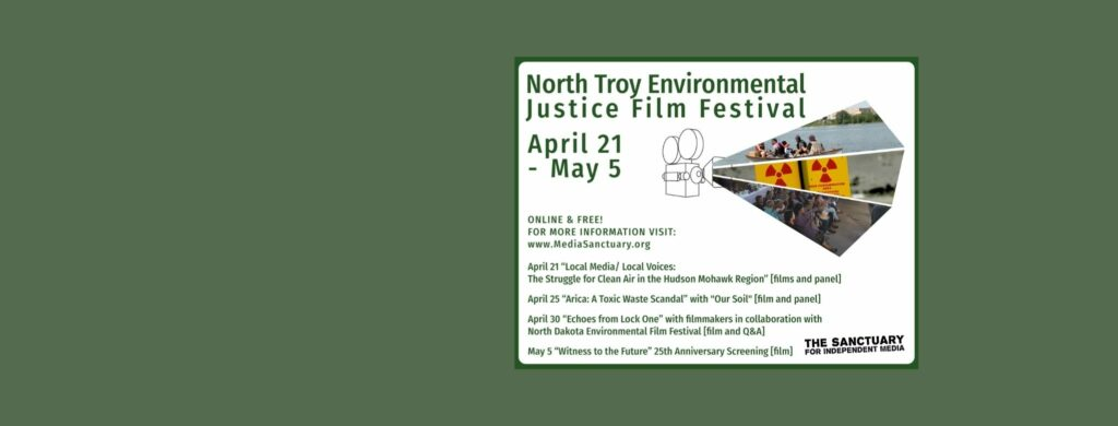 Poster for North Troy Environmental Justice Film Festival